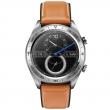 Watch Magic (leather strap) Коричневый/Серебро (RU)