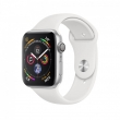 Watch Series 4 GPS 44mm Aluminum Case Sport Band White (MU6A2)