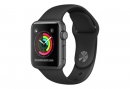 Watch Series 2 38mm Aluminum Case with Sport Band Black (MP0D2)