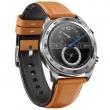 Watch Magic (leather strap) Коричневый/Серебро