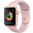 Watch Series 3 38mm with Sport Band Gold/Pink (MQKW2)