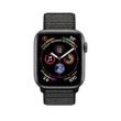 Watch Series 4 GPS 44mm Aluminum Case Sport Loop Black (MU6E2)