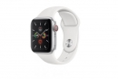 Watch Series 5 GPS 44mm Aluminum Case Sport Band White (MWVD2)